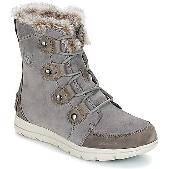 Čevlji  Ženske Škornji za sneg Sorel SOREL™ EXPLORER JOAN Siva