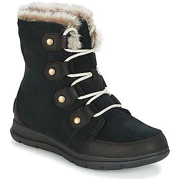 Čevlji  Ženske Škornji za sneg Sorel SOREL™ EXPLORER JOAN Črna