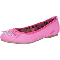 Čevlji  Deklice Balerinke Lulu Balerinke AG639 Roza