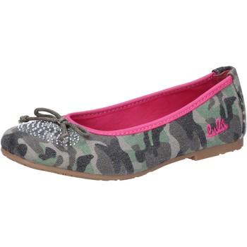 Čevlji  Deklice Balerinke Lulu Balerinke AG640 Zelena