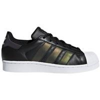 Čevlji  Otroci Nizke superge adidas Originals Superstar Črna