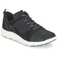 Čevlji  Moški Visoke superge Timberland FlyRoam Leather Oxford Črna
