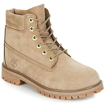 Čevlji  Otroci Polškornji Timberland 6 In Premium WP Boot Bež