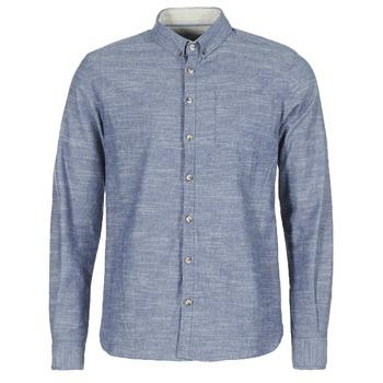 Oblačila Moški Srajce z dolgimi rokavi Casual Attitude IPODRUM Modra
