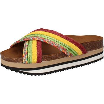 Čevlji  Ženske Natikači 5 Pro Ject Sandale AC589 Zelena