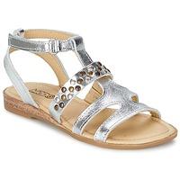 Čevlji  Deklice Sandali & Odprti čevlji Mod'8 JADE Srebrna