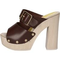 Čevlji  Ženske Sandali & Odprti čevlji Suky Brand sandali marrone pelle AC764 Marrone