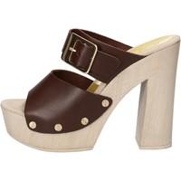 Čevlji  Ženske Sandali & Odprti čevlji Suky Brand sandali marrone pelle AC765 Marrone