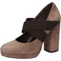Čevlji  Ženske Salonarji Silvia Rossini črpalke čevlje AD487 Bež