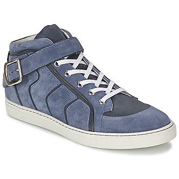Čevlji  Moški Visoke superge Vivienne Westwood HIGH TRAINER Modra