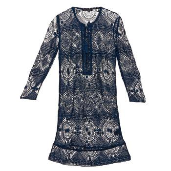 Oblačila Ženske Kratke obleke Antik Batik LEANE Modra