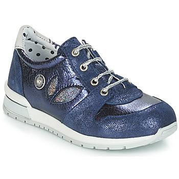 Čevlji  Deklice Balerinke Catimini CHOCHOTTE Modra
