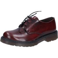 Čevlji  Moški Poslovni čevlji Olga Rubini classiche bordeaux pelle lucida AD720 Rosso
