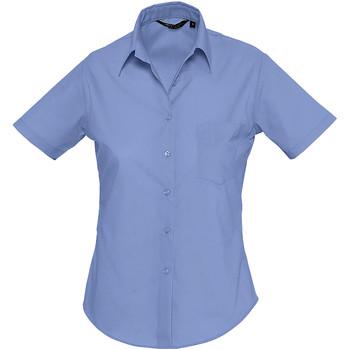 Oblačila Ženske Srajce & Bluze Sols ESCAPE POPELIN WOMEN Azul