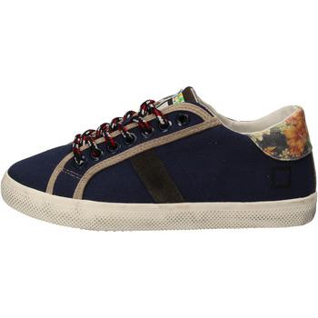 Čevlji  Deklice Nizke superge Date AD862 Modra