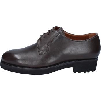 Čevlji  Moški Čevlji Derby Alexander BY450 Kostanjeva