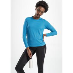 Oblačila Ženske Majice z dolgimi rokavi Sols SPORT LSL WOMEN Azul