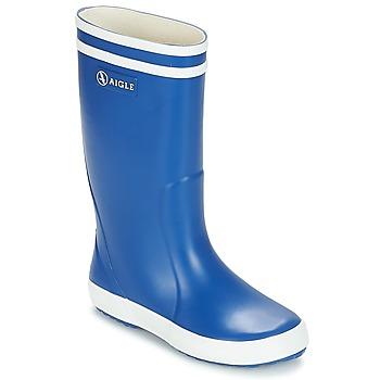 Čevlji  Otroci škornji za dež  Aigle LOLLY POP Modra
