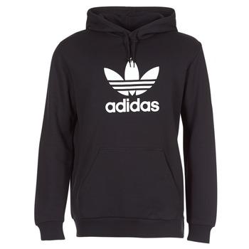 Oblačila Moški Puloverji adidas Originals TREFOIL HOODIE Črna