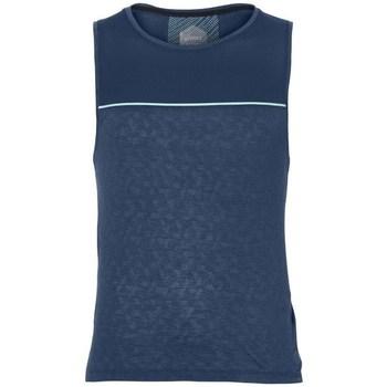 Oblačila Moški Majice brez rokavov Asics Cool Singlet Modra