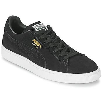 Čevlji  Nizke superge Puma SUEDE CLASSIC + Črna