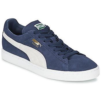 Čevlji  Nizke superge Puma SUEDE CLASSIC + Modra / Bela