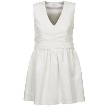 Oblačila Ženske Kratke obleke Suncoo CAGLIARI Bela