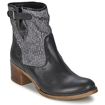 Čevlji  Ženske Gležnjarji Meline ALESSANDRA Črna
