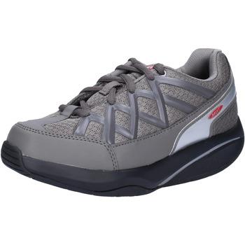 Čevlji  Ženske Nizke superge Mbt sneakers grigio tessuto dynamic AB390 Grigio