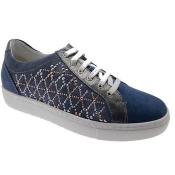 Čevlji  Ženske Nizke superge Calzaturificio Loren LOC3787bl blu