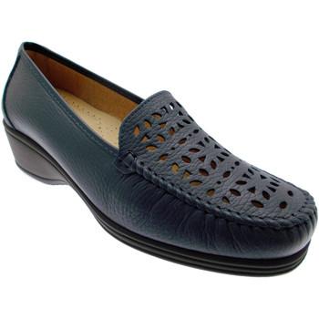 Čevlji  Ženske Mokasini Calzaturificio Loren LOK3987bl blu