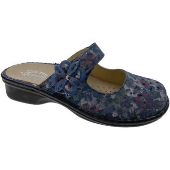 Čevlji  Ženske Natikači Calzaturificio Loren LOM2709bl blu