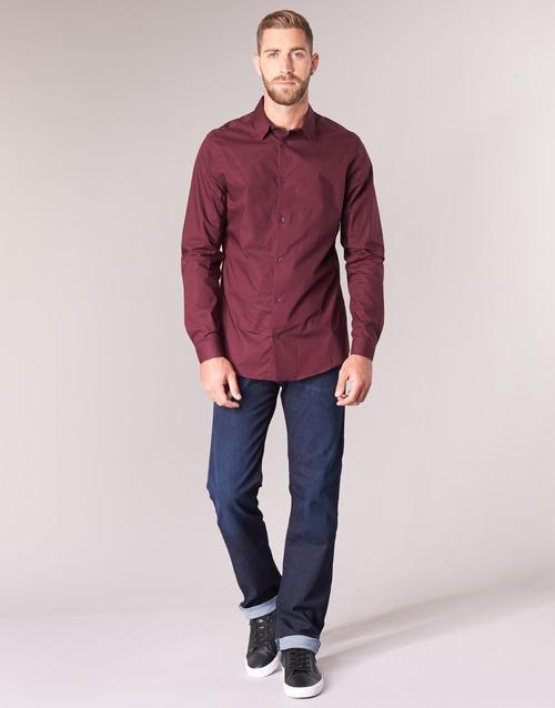 Oblačila Moški Jeans straight Emporio Armani BOUWI Modra