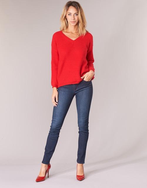 Oblačila Ženske Jeans skinny Emporio Armani ISIWA Modra