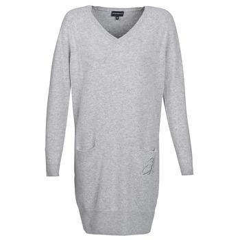 Oblačila Ženske Kratke obleke Emporio Armani CROWA Siva