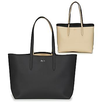 Torbice Ženske Nakupovalne torbe Lacoste ANNA Črna / Bež