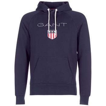 Oblačila Moški Puloverji Gant GANT SHIELD SWEAT HOODIE Modra