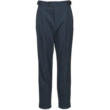 Oblačila Ženske Hlače s 5 žepi Joseph DEAN Modra