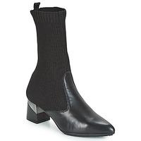 Čevlji  Ženske Mestni škornji    Hispanitas LINO Črna