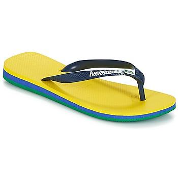 Čevlji  Japonke Havaianas BRASIL LAYERS Rumena