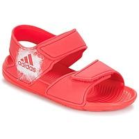 Čevlji  Deklice Sandali & Odprti čevlji adidas Performance ALTASWIM C Rožnata