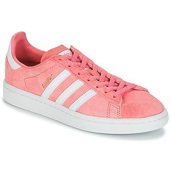 Čevlji  Ženske Nizke superge adidas Originals CAMPUS W Rožnata