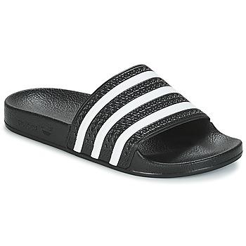 Čevlji  Natikači adidas Originals ADILETTE Črna / Bela