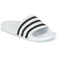 Čevlji  Natikači adidas Originals ADILETTE Bela / Črna