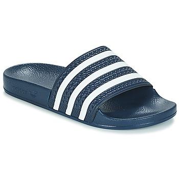 Čevlji  Natikači adidas Originals ADILETTE Bela