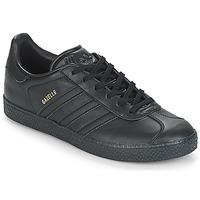 Čevlji  Otroci Nizke superge adidas Originals GAZELLE J Črna
