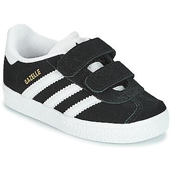 Čevlji  Otroci Nizke superge adidas Originals GAZELLE CF I Črna