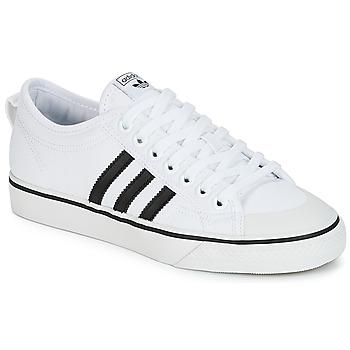 Čevlji  Nizke superge adidas Originals NIZZA Bela / Črna