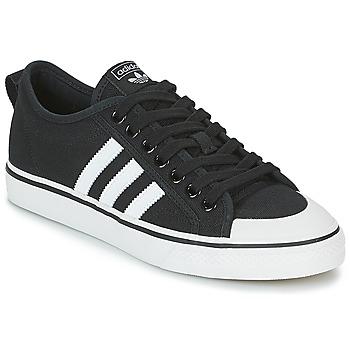 Čevlji  Nizke superge adidas Originals NIZZA Czarny / Biały