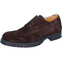 Čevlji  Moški Čevlji Derby & Čevlji Richelieu Salvo Barone Klasična BZ164 Rjav